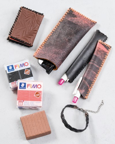 Staedler Fimo Leather Effect
