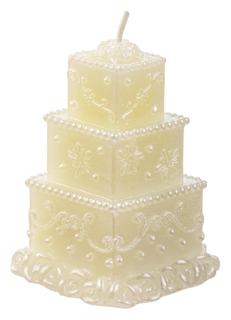 Schoenes Fuer Jeden De Kerze Hochzeitstorte Quadratisch 5 5 X 7 5